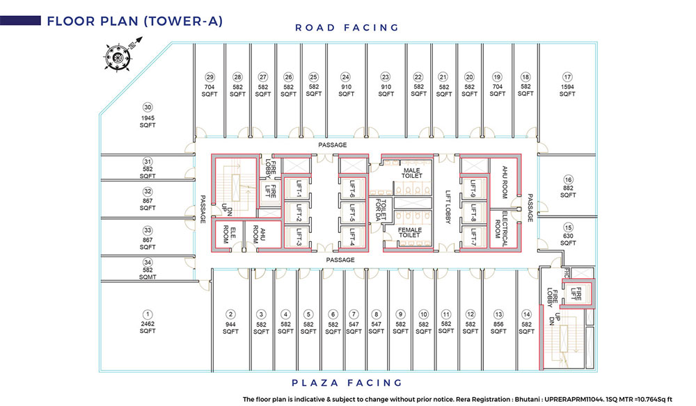 Cyberthum Floor Plan 1
