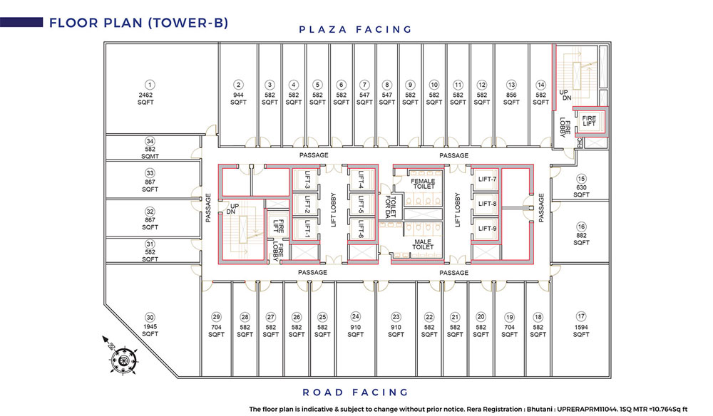 Cyberthum Floor Plan 2